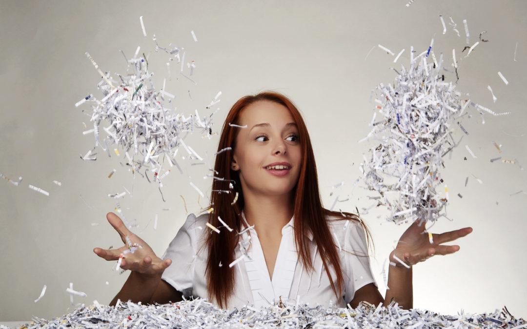 Pourquoi acheter un destructeur de documents