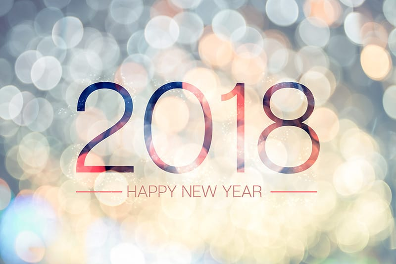 Bonne et heureuse année 2018 !