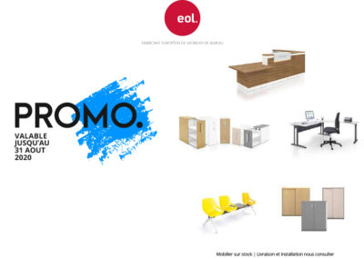 Jusqu'à 50 % de remise sur des meubles et accessoires de bureau de qualité !